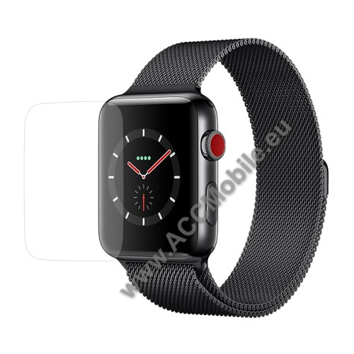 Előlap védő karcálló edzett üveg - 0.3mm 9H - APPLE Watch Series 3 42mm