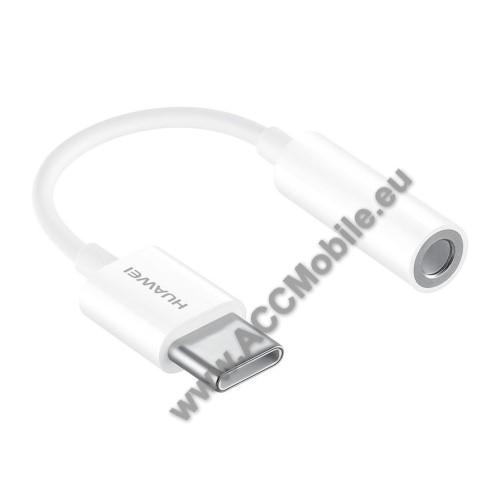 HUAWEI CM20 audio adapter - Type C / 3,5mm Jack  FEHÉR - GYÁRI