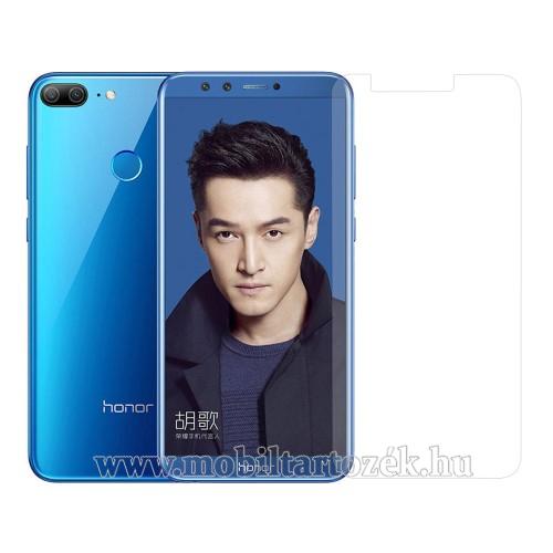Előlap védő karcálló edzett üveg - 0,3 mm vékony, 9H, Arc Edge, A képernyő sík részét védi - HUAWEI Honor 9 Lite / HUAWEI Honor 9 Youth Edition