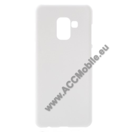 Mûanyag védõ tok / hátlap - FEHÉR - Hybrid Protector - SAMSUNG Galaxy A8 (2018)