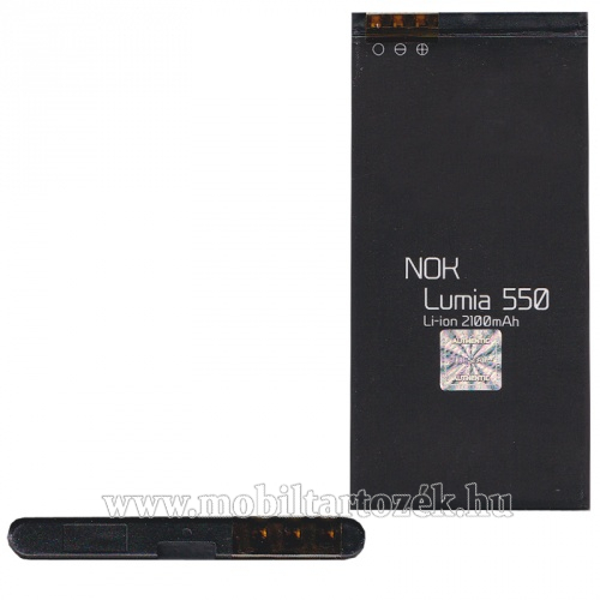 MICROSOFT Lumia 550 akkumulátor - 1900mAh Li-ION - BL-T5A kompatibilis