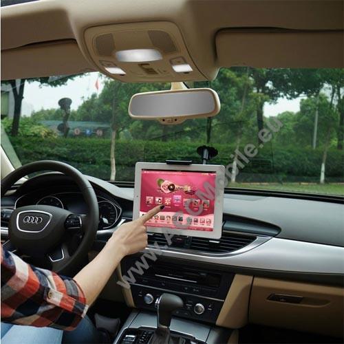 UNIVERZÁLIS autós / gépkocsi tartó - tapadókorongos, hosszú karral!, 360°-ban forgatható - 5-10
