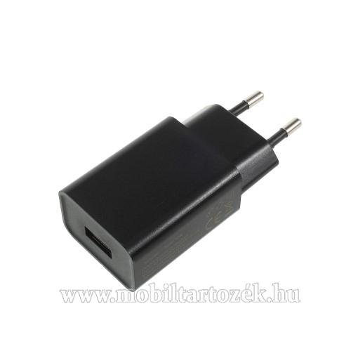 XIAOMI hálózati töltő - 1 x USB aljzat, 5V / 2A - FEKETE - CYSK10-050200-E - GYÁRI
