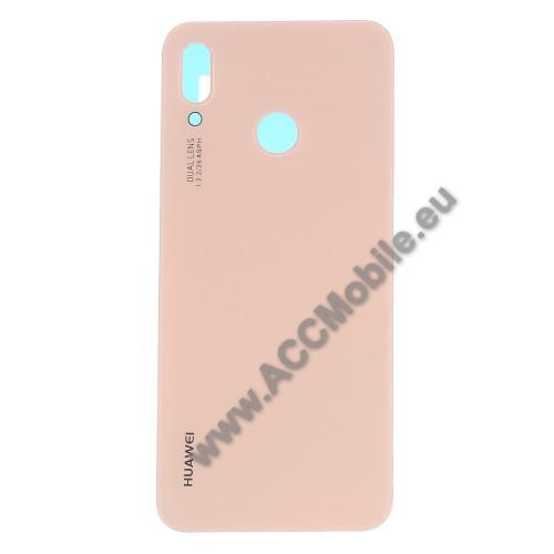 Akkufedél - ROSE GOLD - ragasztóval - HUAWEI P20 lite (2018) / HUAWEI Nova 3e