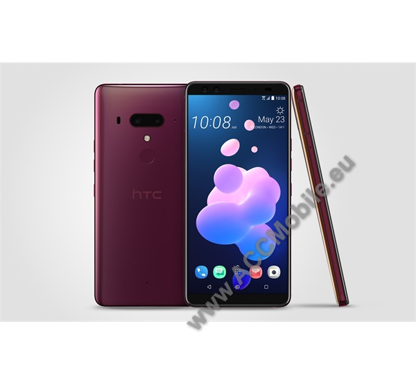 HTC U12+ Dual Sim, Flame red, 64GB