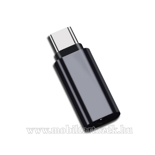 Audio adapter - Type C / 3,5mm Jack - FEKETE