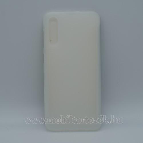 Szilikon védő tok / hátlap - FLEXI - FEHÉR - SAMSUNG SM-A307F Galaxy A30s / SAMSUNG SM-A505F Galaxy A50 / SAMSUNG Galaxy A50s