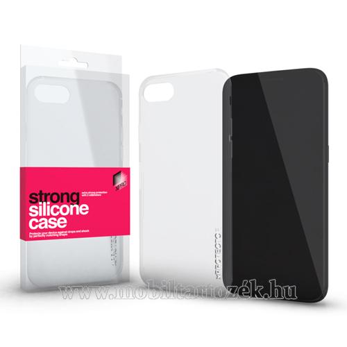 Szilikon védo tok / hátlap - STRONG 2mm - ÁTLÁTSZÓ - APPLE iPhone Xr