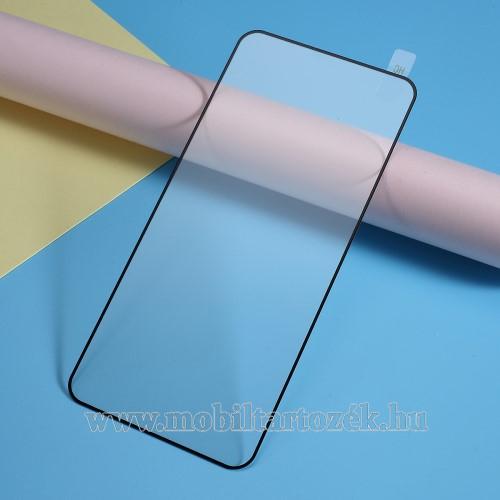 Előlap védő karcálló edzett üveg - 9H, 2.5D, Arc Edge - FEKETE - A TELJES KIJELZŐT VÉDI! - OnePlus 7 Pro / OnePlus 7 Pro 5G / OnePlus 7T Pro