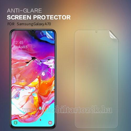 NILLKIN képernyővédő fólia - Anti-Glare - MATT! - 1db, törlőkendővel - SAMSUNG SM-A705F Galaxy A70 - GYÁRI