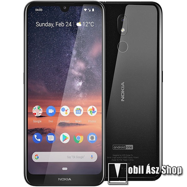 Nokia 3.2, Dual SIM, fekete