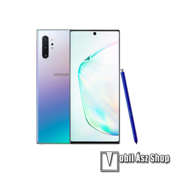 Samsung Galaxy Note 10+ Dual SIM, Fénylő Prizma, 256GB (SM-N975)