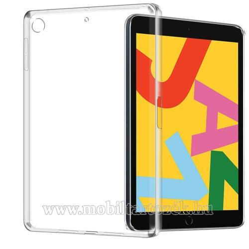 Szilikon védő tok / hátlap - FÉNYES - ÁTLÁTSZÓ - APPLE iPad 10.2 (7th Generation)