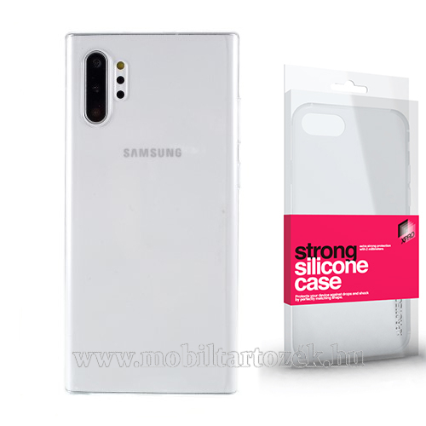 Szilikon védő tok / hátlap - STRONG 2mm - ÁTLÁTSZÓ - SAMSUNG SM-N975F Galaxy Note10+ / SAMSUNG SM-N976F Galaxy Note10+ 5G