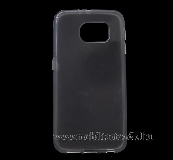 Szilikon védő tok / hátlap - ÁTLÁTSZÓ - SAMSUNG SM-G920 Galaxy S6