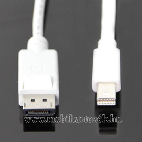 Thunderbolt Port-ról DisplayPort port-ra alakít át - 1,8m hosszú - FEHÉR