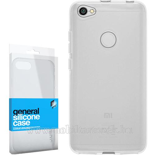 Xpro szilikon védő tok / hátlap - ULTRAVÉKONY! 0.33mm - ÁTLÁTSZÓ - Xiaomi Redmi Note 5A / Xiaomi Redmi Y1 Lite