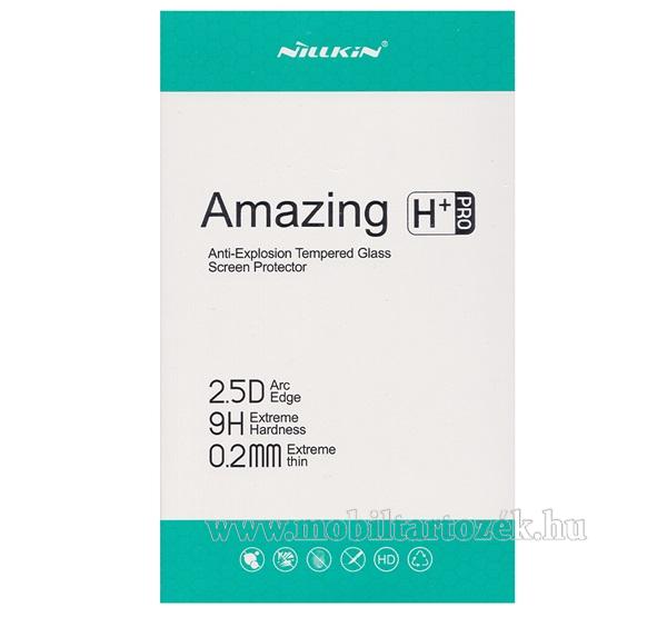 NILLKIN Amazing H+PRO előlap védő karcálló edzett üveg - 0.2mm, 9H, A képernyő sík részét védi - OnePlus 6T / OnePlus 7 - GYÁRI