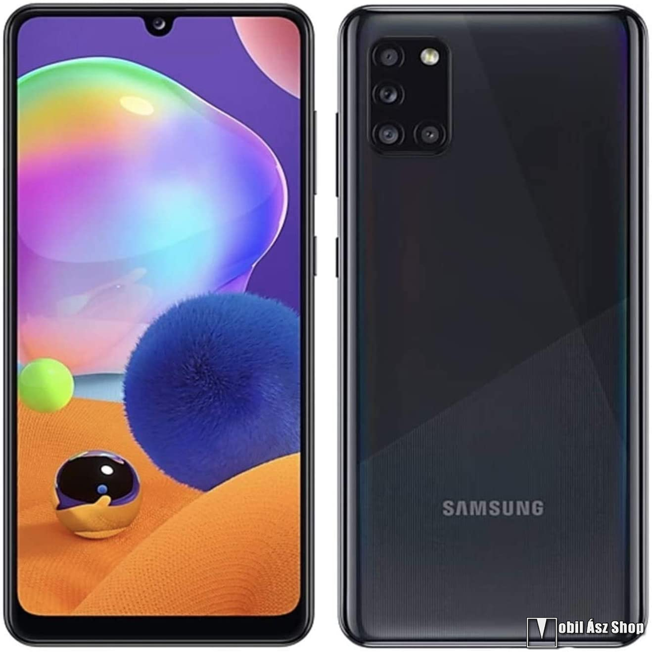 Samsung Galaxy A31 Dual SIM, Fekete, 64GB (SM-A315)