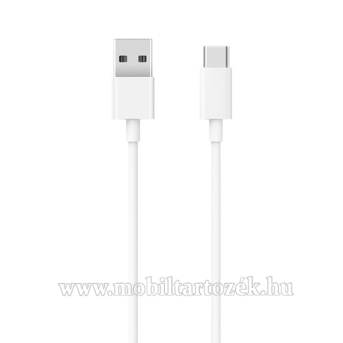 Xiaomi Type-C  adatátvieli kábel / töltő kábel - SJV4125CN - 1m - FEHÉR - GYÁRI