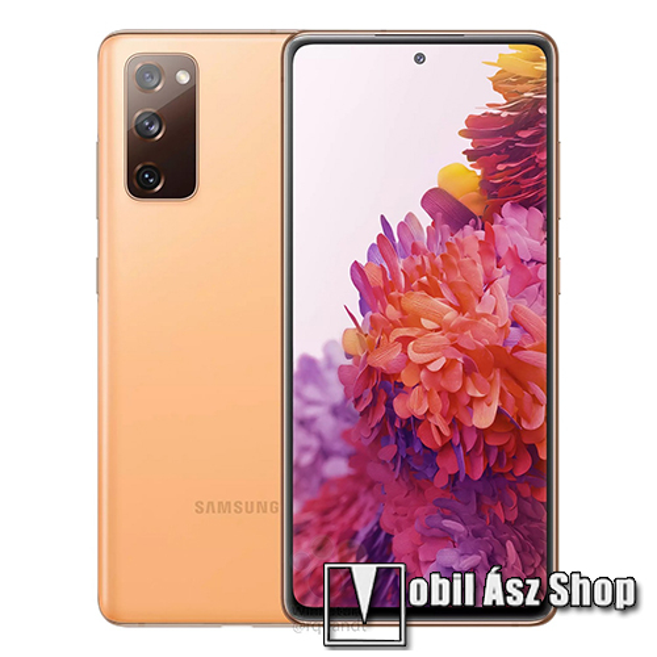 Samsung Galaxy S20 FE, Dual SIM, Ködös Narancs, 128GB