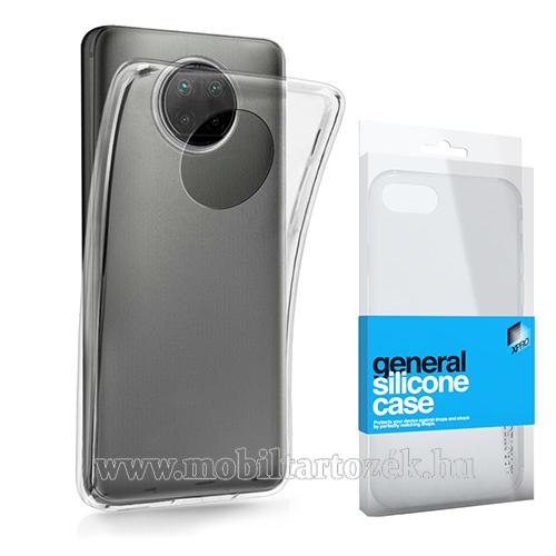 Xpro szilikon védő tok / hátlap - ULTRAVÉKONY! 0.33mm - ÁTLÁTSZÓ - Xiaomi Redmi Note 9T 5G / Redmi Note 9 5G - GYÁRI