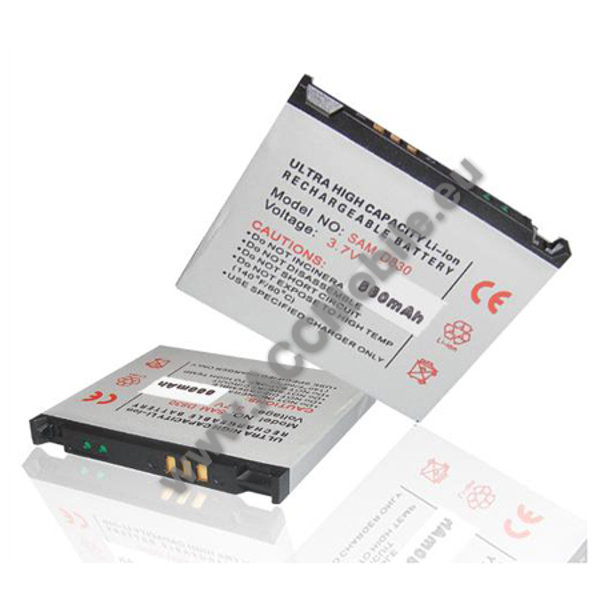 Akku 900 mAh LI-ION - SAMSUNG SGH-U100/U600/X820