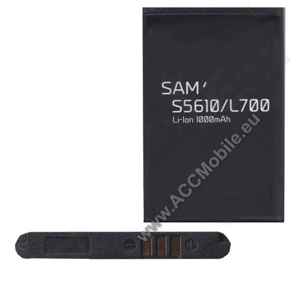 Akku 1000 mAh LI-ION - SAMSUNG AB463651BEC kompatibilis