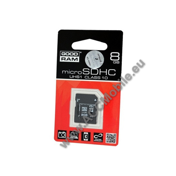 HUAWEI P8MEMÓRIA KÁRTYA TransFlash 8 GB (microSD - Class 10, UHS-1) + SD adapter