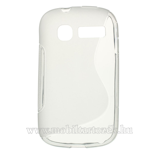 EXKLUZÍV telefonvédõ gumi / szilikon tok (FÉNYES/MATT) - SZÜRKE - ALCATEL OT-4015D Pop C1