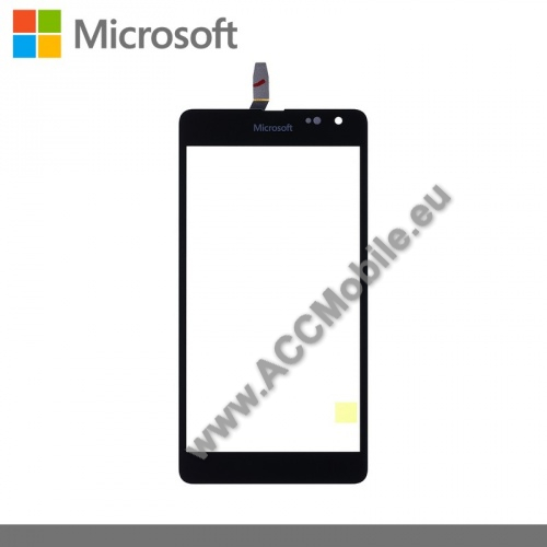 Plexi ablak érintő panellel - FEKETE - 8003434 - MICROSOFT Lumia Lumia 535 - GYÁRI