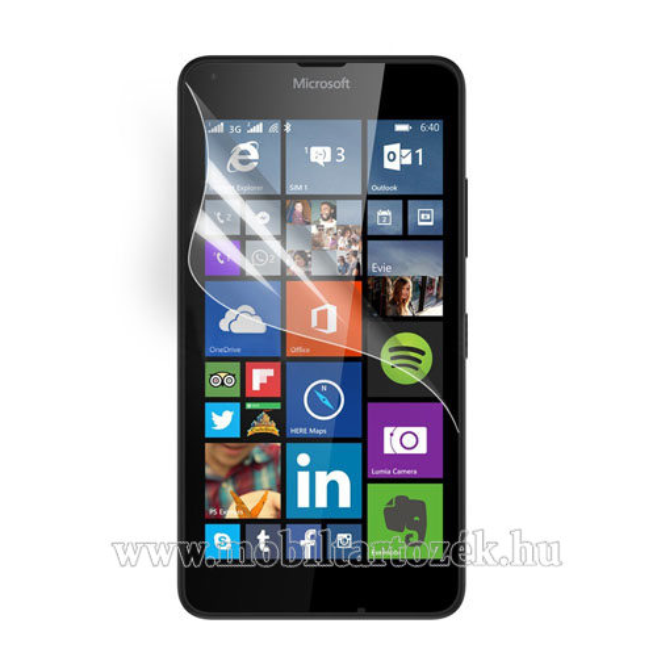 Képernyővédő fólia - Anti-glare - MATT! - 1db, törlőkendővel - MICROSOFT Lumia 640 Dual SIM / Lumia 640 LTE / Lumia 640 LTE Dual SIM