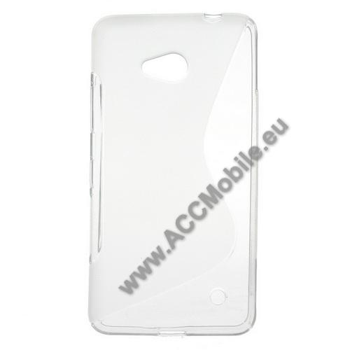 Szilikon védő tok / hátlap - FÉNYES / MATT - ÁTLÁTSZÓ - MICROSOFT Lumia 640 Dual SIM / Lumia 640 LTE / Lumia 640 LTE Dual SIM