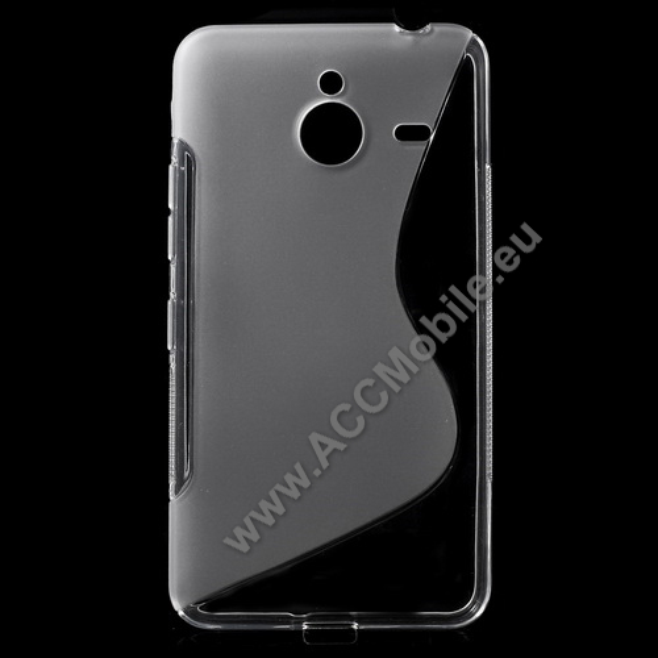 Szilikon védő tok / hátlap - FÉNYES / MATT - ÁTLÁTSZÓ - MICROSOFT Lumia 640 XL / Lumia 640 XL Dual SIM / Lumia 640 XL LTE / Lumia 640 XL LTE Dual SIM