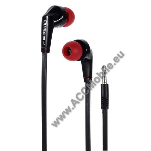HUAWEI MediaPad T5 10Langston JD88 univerzális sztereo headset - 3,5mm jack csatlakozó - FEKETE / PIROS