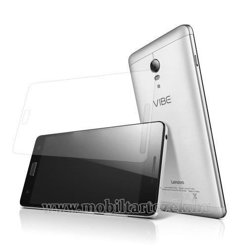 Előlapvédő karcálló edzett üveg - 0,3mm, 9H, Arc Edge, A képernyő sík részét védi - Lenovo Vibe P1