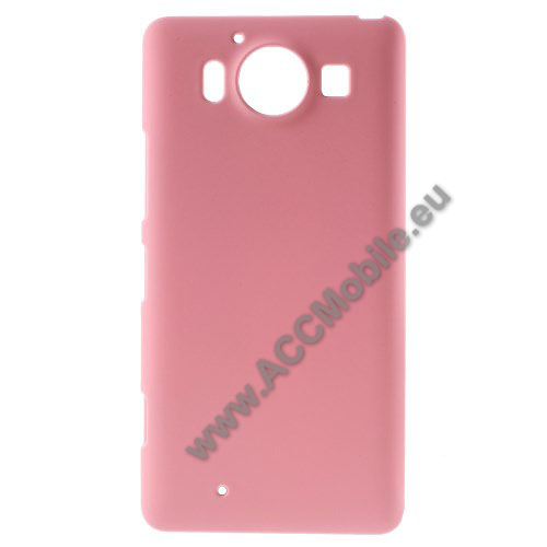 Műanyag védő tok / hátlap - Hybrid Protector - RÓZSASZÍN - MICROSOFT Lumia 950 / MICROSOFT Lumia 950 Dual SIM