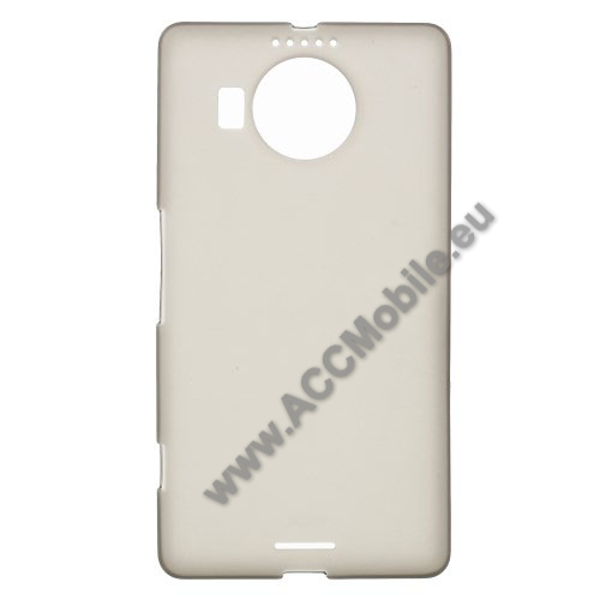 Szilikon v�d� tok / h�tlap - FLEXI - SZ�RKE - MICROSOFT Lumia 950 XL / MICROSOFT Lumia 950 XL Dual SIM