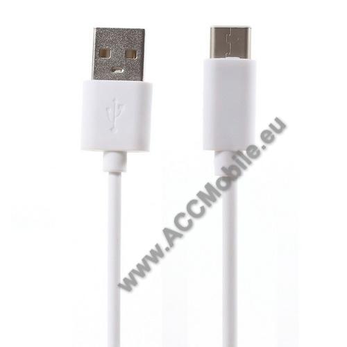 APPLE iPad Pro 11 (2018)Adatátviteli kábel / USB töltő - USB 3.1 Type C - FEHÉR - 80cm