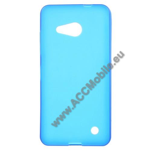 Szilikon védő tok / hátlap - FLEXI - KÉK - MICROSOFT Lumia 550