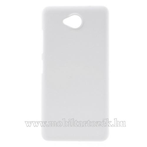 Műanyag védő tok / hátlap - Hybrid Protector - FEHÉR - MICROSOFT Lumia 650