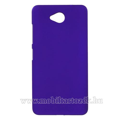 Műanyag védő tok / hátlap - Hybrid Protector - SÖTÉTKÉK - MICROSOFT Lumia 650