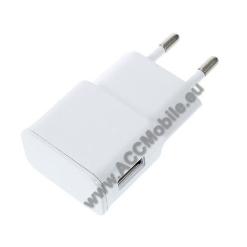 HUAWEI MediaPad T5 10Hálózati töltő - USB aljzattal, 5V/2000mAh - FEHÉR
