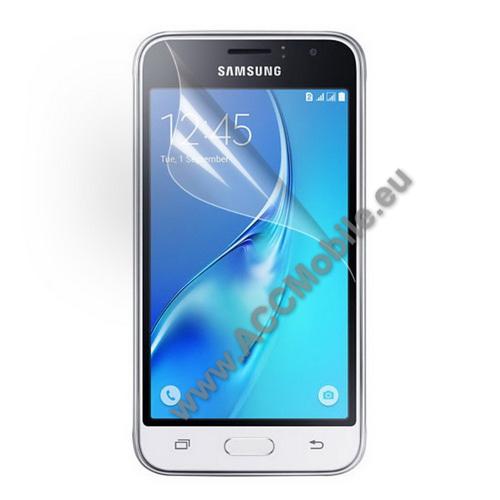Képernyővédő fólia - Clear - 1db, törlőkendővel - SAMSUNG SM-J120F Galaxy J1 (2016)