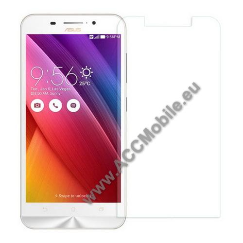 Elõlap védõ karcálló edzett üveg - 0,3mm, 9H, Arc Edge - ASUS Zenfone Max (ZC550KL)