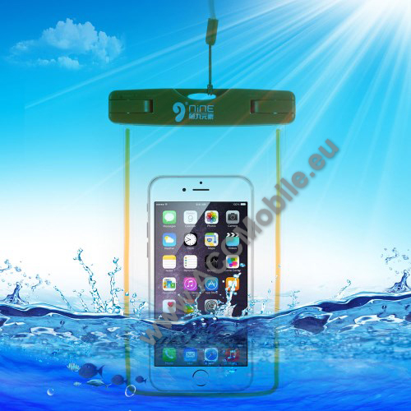V�zhatlan/v�z�ll� tok, AQUA - NARANCS - Apple iPhone 6 Plus m�ret - 165 x 85mm, AQUAPACK-hoz hasonl�