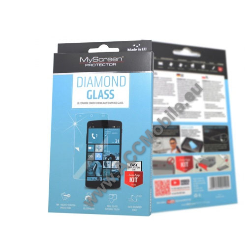 DIAMOND GLASS el�lap v�d� karc�ll� edzett �veg - 0.33mm v�kony, 9H - HUAWEI P9 Plus
