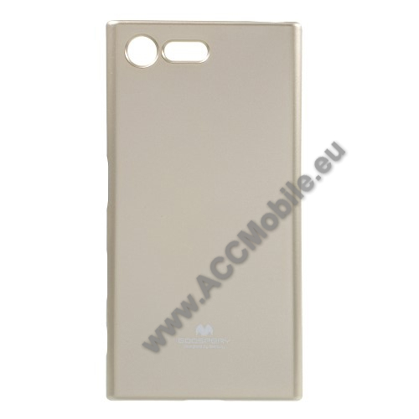 MERCURY szilikon védõ tok / hátlap - ARANY - Sony Xperia X Compact (F5321) - GYÁRI