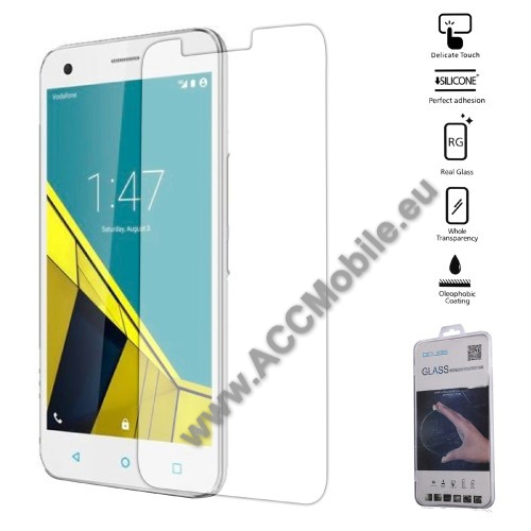 Elõlapvédõ karcálló edzett üveg - 0,26mm, 9H, Arc Edge - Vodafone Smart Grand 6
