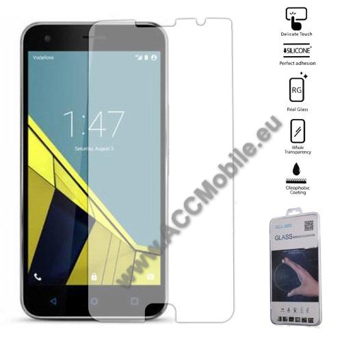 Elõlapvédõ karcálló edzett üveg - 0,26mm, 9H, Arc Edge - Vodafone Smart Ultra 7